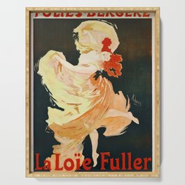Vintage French poster - Jules Cheret - La Loie Fuller Serving Tray