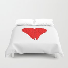 Wings Of An Angel - Daryl Dixon Duvet Cover