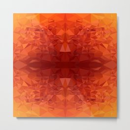 fire chrystal Metal Print