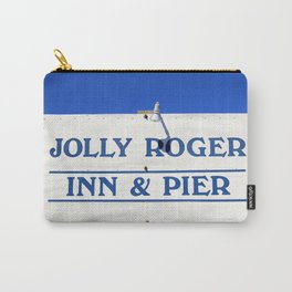 Visit And Stay On The Beach Carry-All Pouch