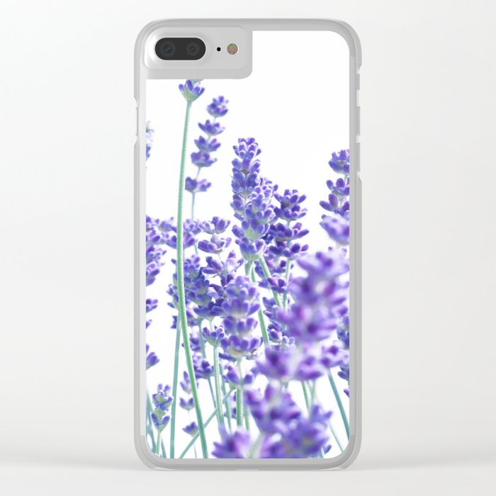 Fresh Lavender #1 #decor #art #society6 Clear iPhone Case