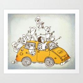The Joyride Art Print