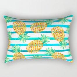 Pineapple Sea Stripes Rectangular Pillow