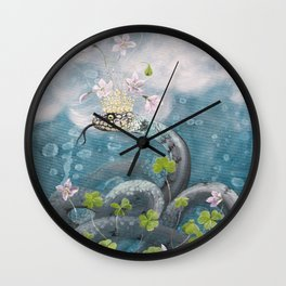 Natrix Oxalis Wall Clock