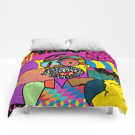 Trippin' Homer Comforters