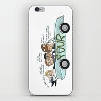 cyrilliart iPhone & iPod Skins featuring No Control by Cyrilliart