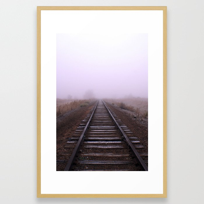 Into The Ether Framed Art Print