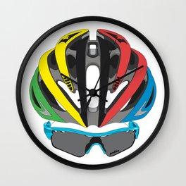 Cycling Face Wall Clock