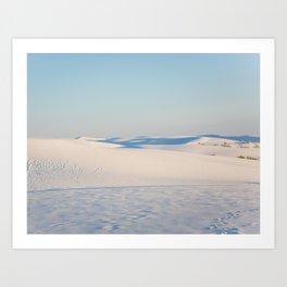 Ombre Sands Art Print