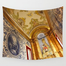 Portuguese church Wall Tapestry