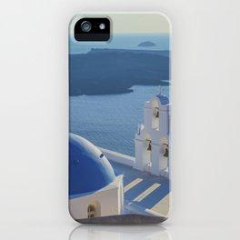 Santorini Island, Greece iPhone Case