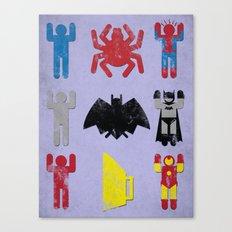 Super Heroic Minimalism Remix Canvas Print
