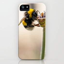 Flower Bee iPhone Case