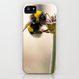 Flower Bee iPhone Case