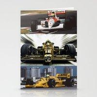 senna Stationery Cards featuring Senna by Rassva