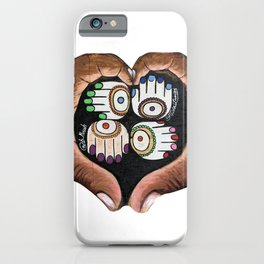 K'AL: Raise up: Black and Indigenous Lives by Musah Swallah & Frida Larios iPhone Case