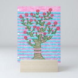 Notebook Flower Tree Mini Art Print