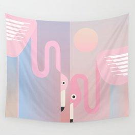 Drawing13_Flamingo Wall Tapestry