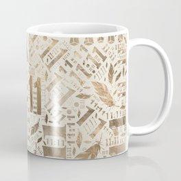 Eleven Eleven Numerology Pattern Angel Feathers #3 Coffee Mug