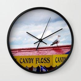 Candy Floss Bird Wall Clock