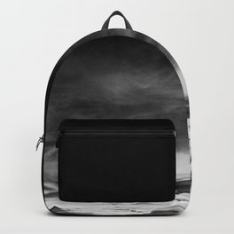 BLACK & WHITE TOUCHING #1 #abstract #decor #art #society6 Backpack