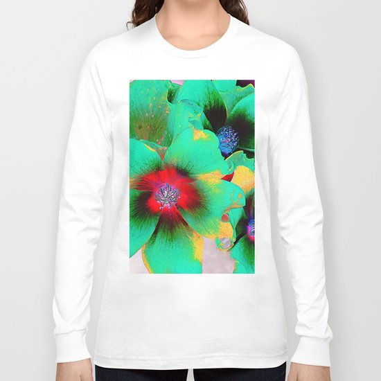 flowers in colors 98 Long Sleeve T-shirt