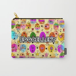 Eggcellent Popart by Nico Bielow Carry-All Pouch
