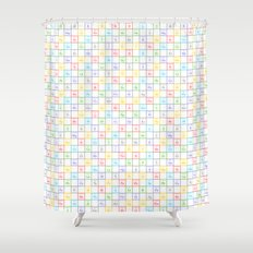 Periodic Pattern Shower Curtain