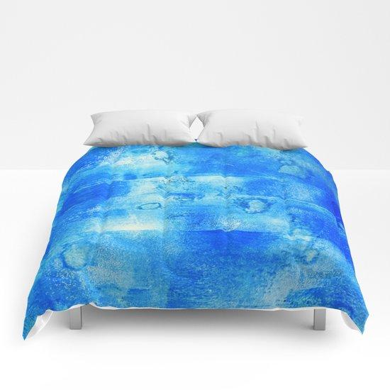 Blue Blue Blue Comforters