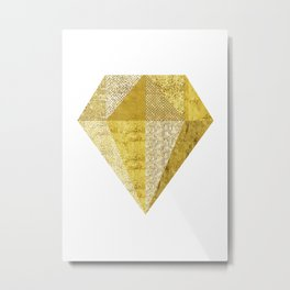 Scandinavian Diamond Metal Print