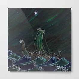 Starlight Voyagers Metal Print