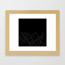 mt. calling Framed Art Print