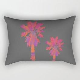 Vibrant Palmtrees No.2 Rectangular Pillow