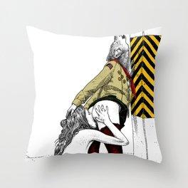 asc 702 - Les nouveaux terrains de chasse (I guess my spirit animal is a wolf) Throw Pillow