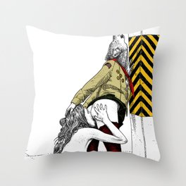 asc 702 - Les nouveaux terrains de chasse (I guess my spirit animal is a wolf) Throw Pillow