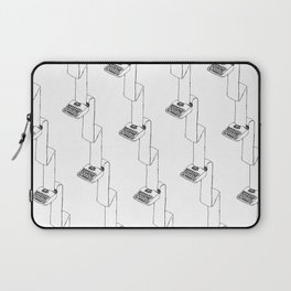 continuous typing pattern Laptop Sleeve