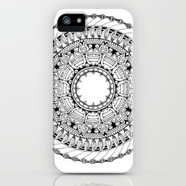 Mandala 3 iPhone Case
