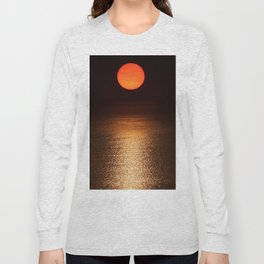 The Smoke Filtered Light from the Sonoma County Fires Long Sleeve T-shirt