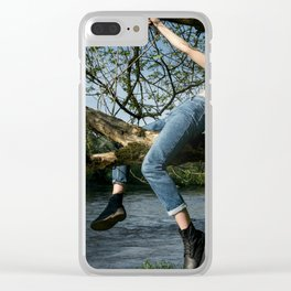 Wild Rider Clear iPhone Case