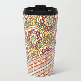 Design Confections Pattern on Pattern 1 Travel Mug