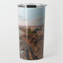 Lima in Peru Travel Mug