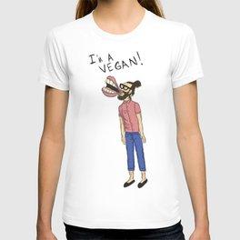 I'm A Vegan!  T-shirt
