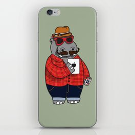 Hipposter iPhone Skin