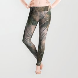 Heathered Grey Intertwine Leggings