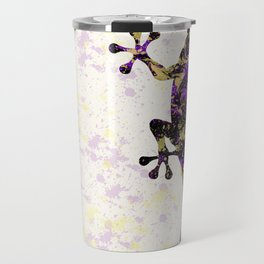 Abstract Lizard Travel Mug