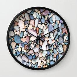 stone beach Wall Clock