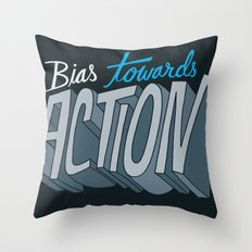 Action Throw Pillow