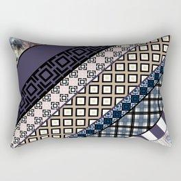 Folk craft , patchwork Rectangular Pillow