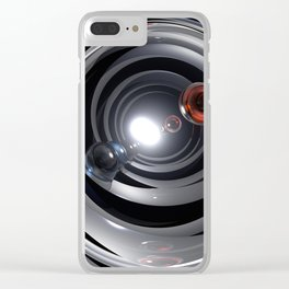 Abstract Camera Lens Clear iPhone Case