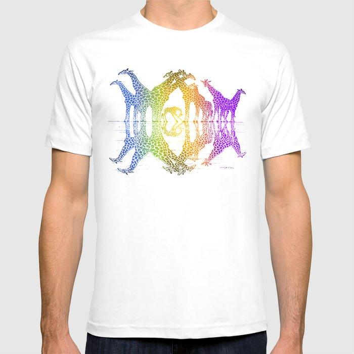 GIRAFFE REFLECTIONS T-shirt